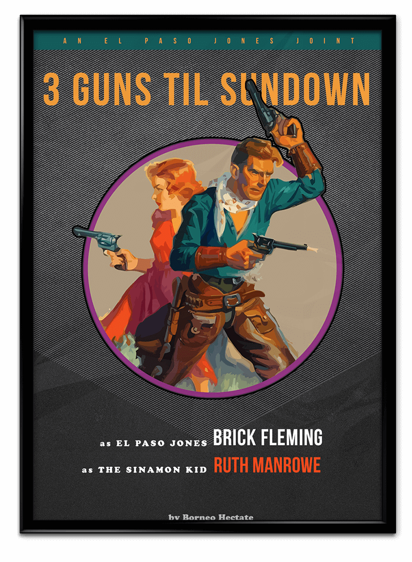 Three Guns Til Sundown book jacket