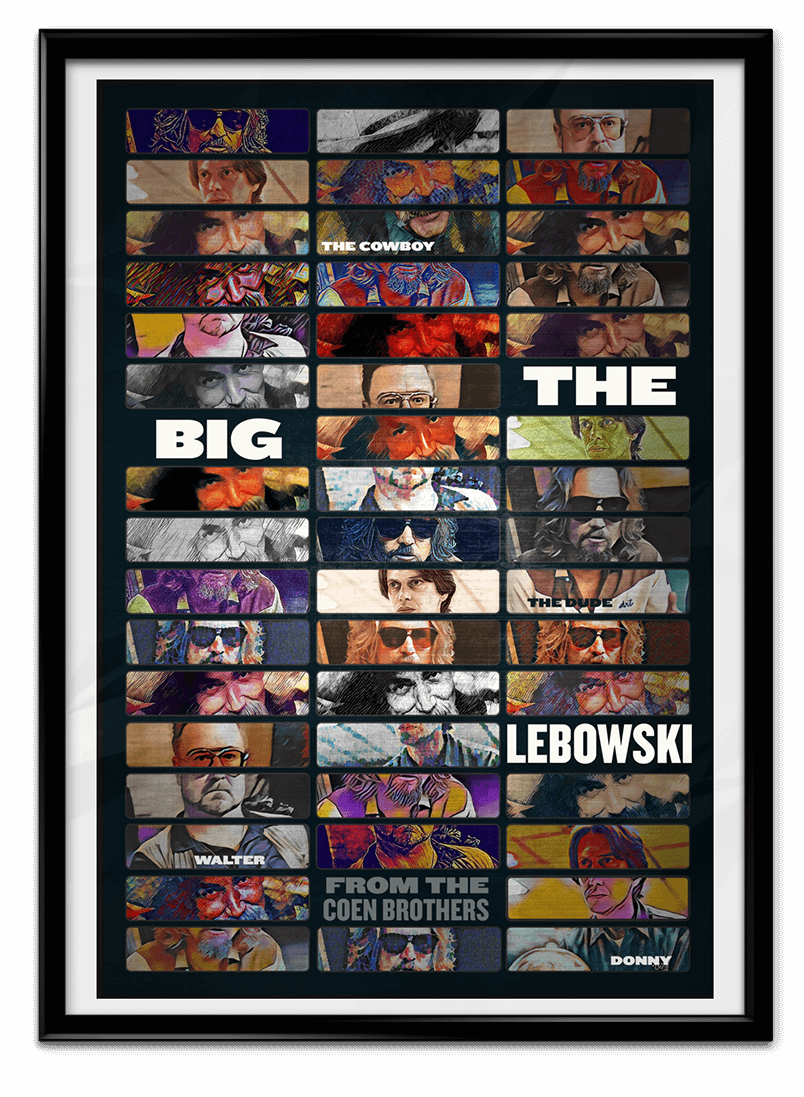 The Big Lebowski book jacket